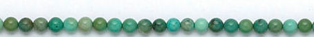 Blue Brown Green Turquoise Beaded Beads 15 Inches