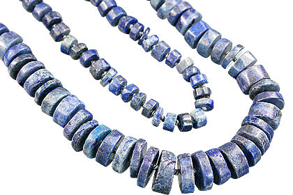 Blue Lapis Lazuli Beaded Necklaces 900 Inches