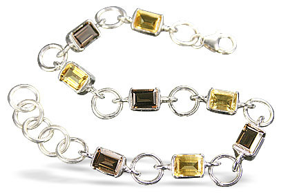 Tennis Citrine Bracelets