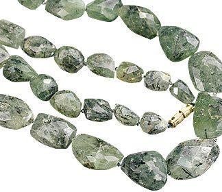 Tumbled Prehnite Necklaces