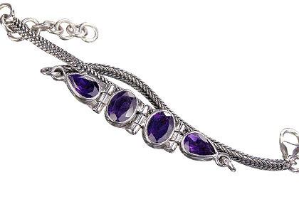 Art-deco Amethyst Bracelets