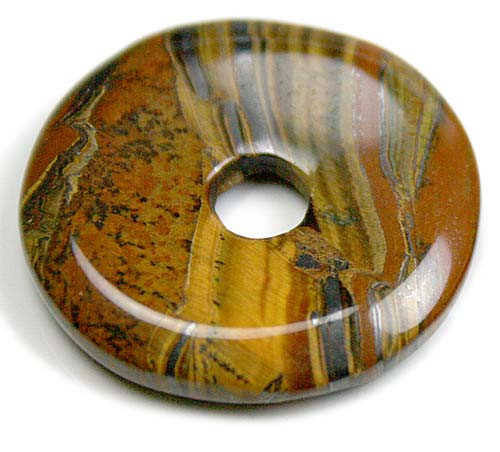 Tiger Eye Donut Pendant