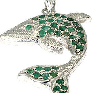 Charms Emerald Pendants