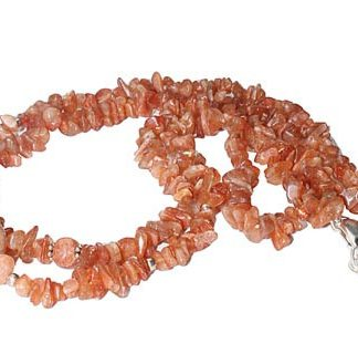 Chipped Sunstone Necklaces