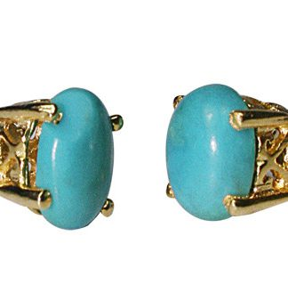 Post Turquoise Earrings