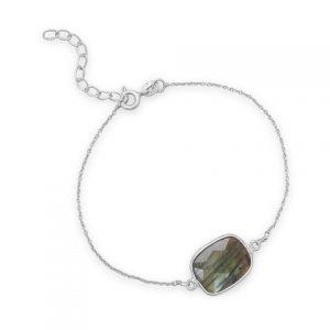 Labradorite Bracelet 7 to 8 Inches