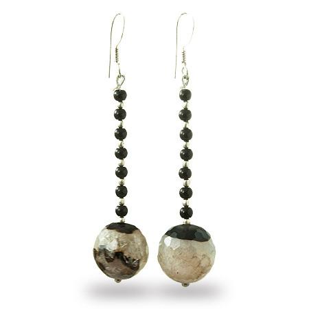 Agate Earrings 2