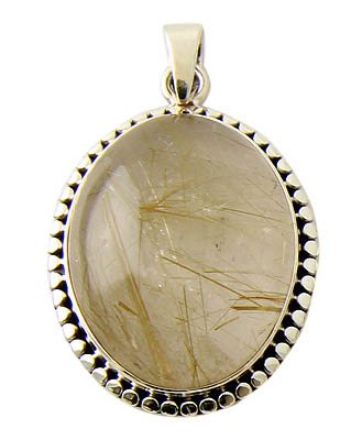 Golden rutilated quartz pendant 16 for Golden rutilated quartz jewelry