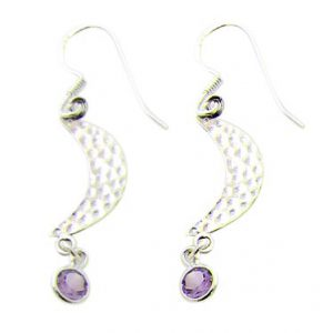 faceted amethyst earrings 4