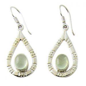 prehnite earrings 3