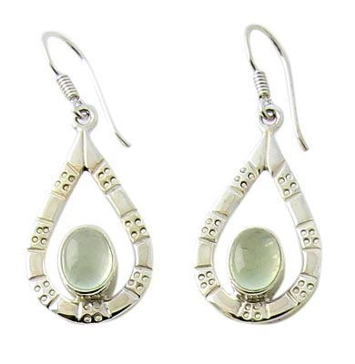 Prehnite Earrings 3
