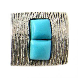 Petite Turquoise Slide Pendant