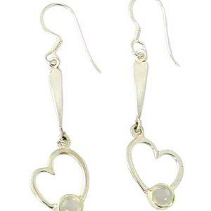 moonstone earring 2