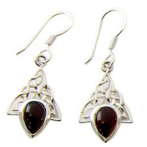 garnet earrings 16