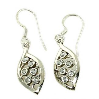 faceted blue topaz earrings 8