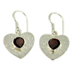 faceted garnet earrings 4