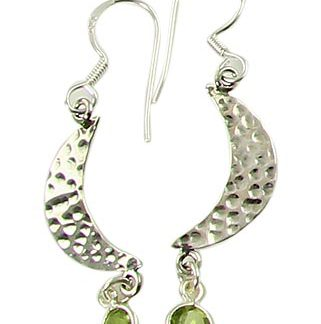 faceted peridot earrings 7