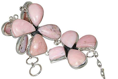 Ethnic Pink Opal Bracelets