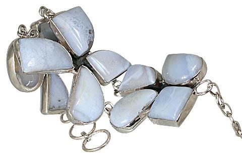 Chalcedony Toggle Bracelet