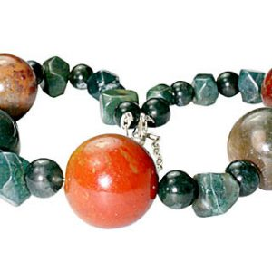 chunky bloodstone necklaces