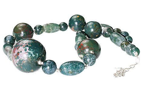Ethnic Bloodstone Necklaces 2