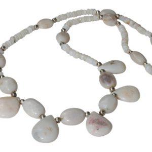 drop opal necklaces