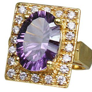 Sterling Silver Amethyst Ring 3