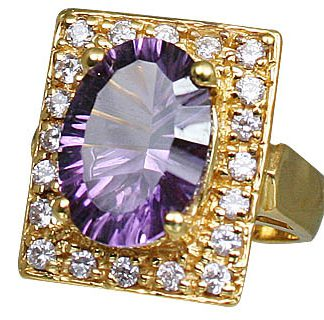 Sterling Silver Amethyst Ring 3