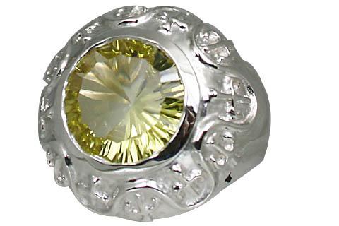 Sterling Silver Lemon Quartz Ring 3
