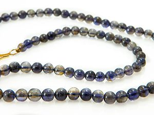 Beaded Iolite Necklace