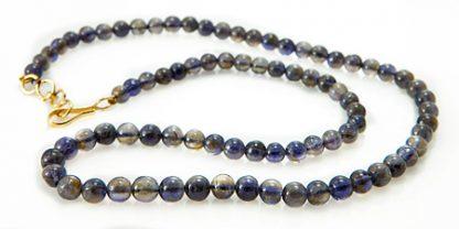 Beaded Iolite Necklace