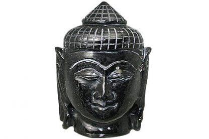 Black Jade Buddha Figure