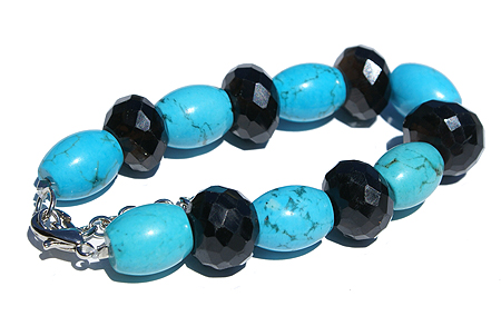 Chunky Smoky Quartz Bracelets 2