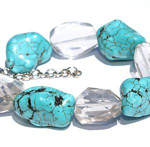 chunky crystal bracelets