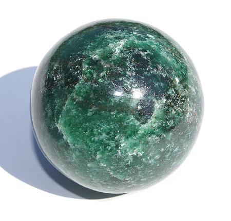 Emerald Fuschite Healing Sphere (2″)