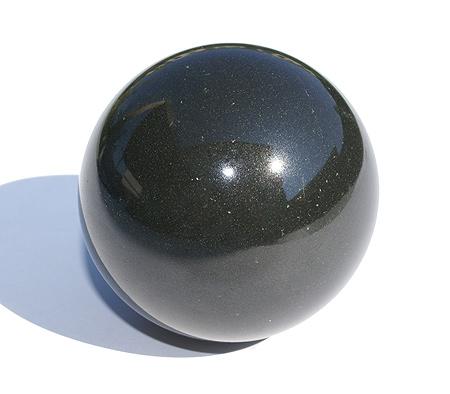 Black Jasper Healing Sphere (2″)