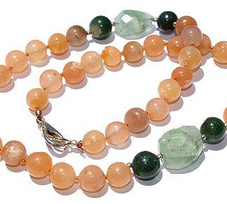 chunky aventurine necklaces