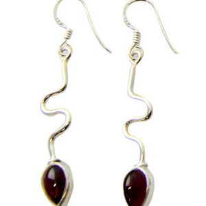 garnet earrings 17