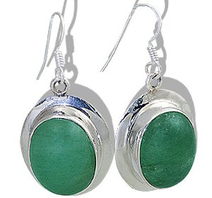 american-southwest aventurine earrings