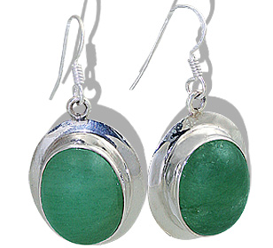 american-southwest aventurine earrings