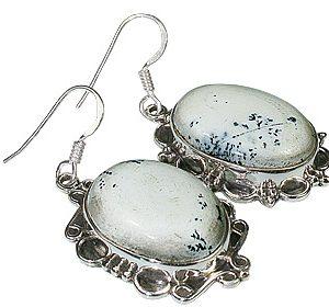 american-southwest dendrite opal earrings