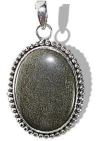 american-southwest obsidian pendants