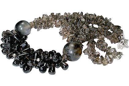 Chipped Smoky Quartz Necklaces 2