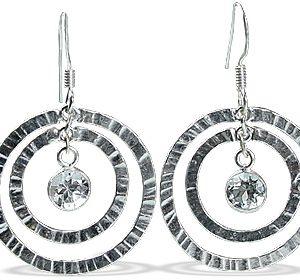 art-deco white topaz earrings 2