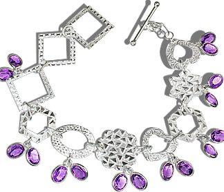contemporary amethyst bracelets 2