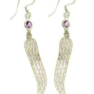 faceted amethyst earrings 8