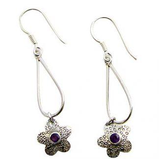 faceted amethyst earrings 9