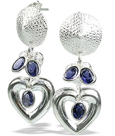 contemporary iolite earrings 5