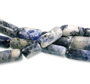 Sodalite Tube Beads (11-22mm)