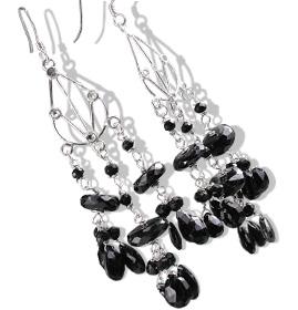 Chandelier Onyx Earrings 2
